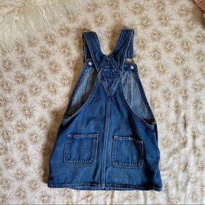 GAP Dresses - Baby Gap   denim overall pinafore jumper dress